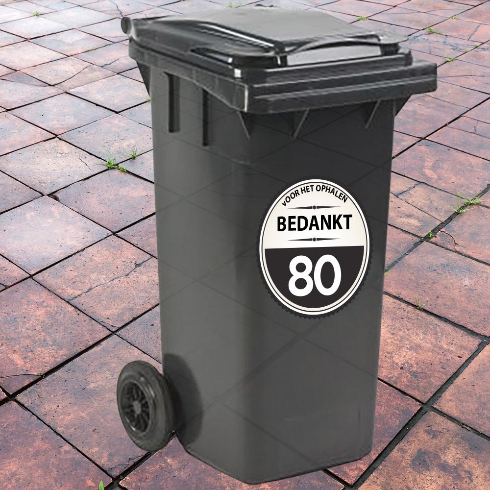 Container sticker