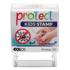 10 stuks Colop protect kids stamp