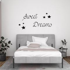 Slaapkamer muursticker Sweet Dreams